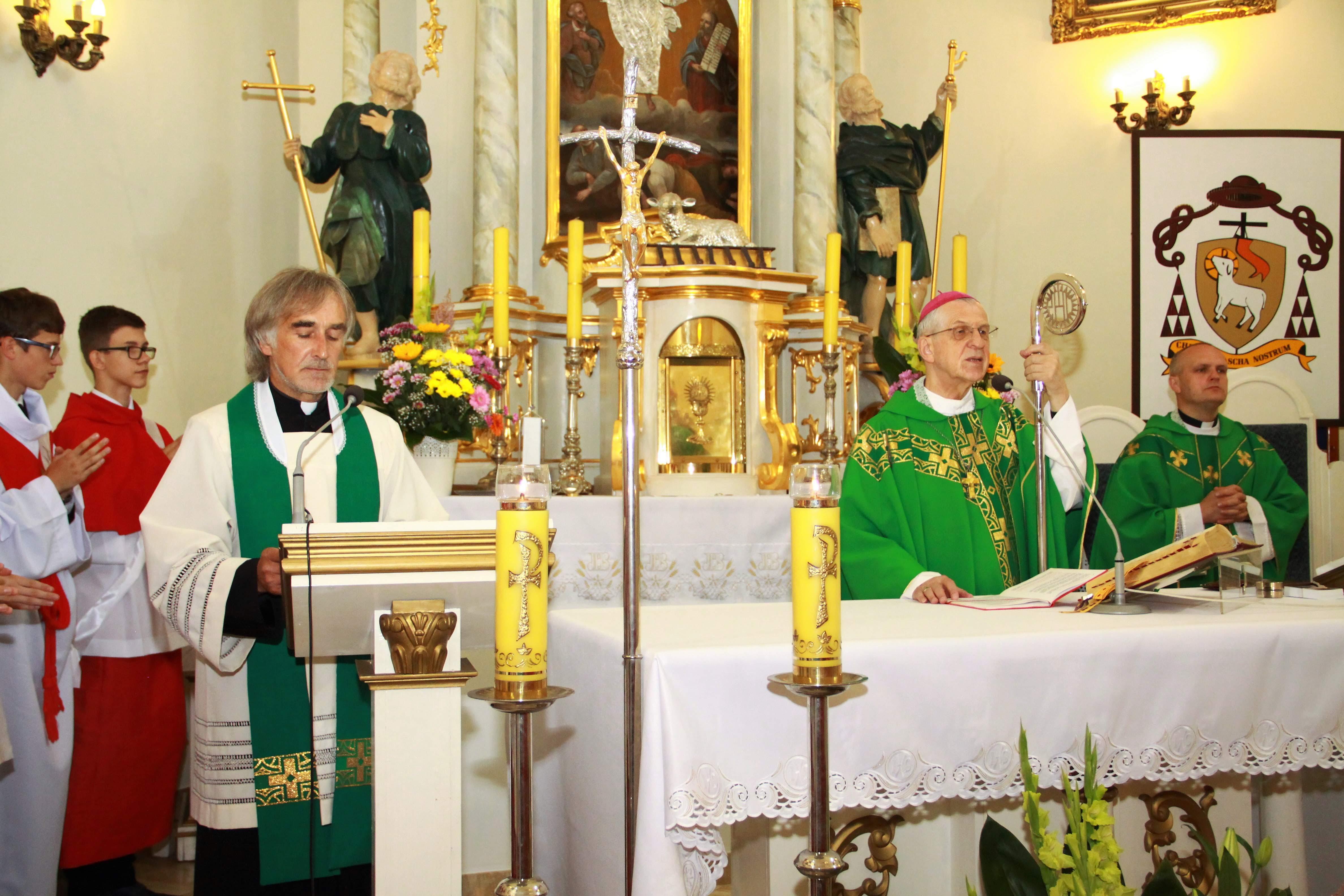 Bierzmowanie i wizytacja Biskupa 07 lipca 2019 roku